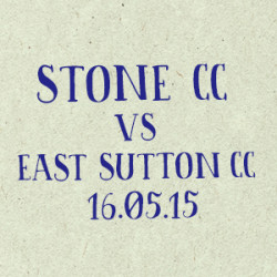 Stone CC vs East Sutton CC