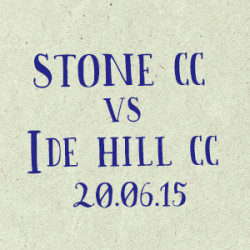 Stone CC vs Ide Hill