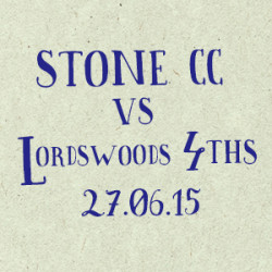 Stone CC vs Lordswood 4ths_2