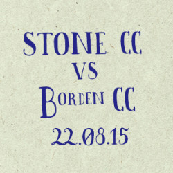 Stone Cricket Club vs. Borden CC match report