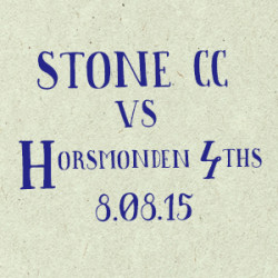 Stone Cricket Club vs. Horsmonden 4s match report