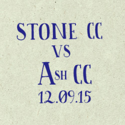 Stone Cricket Club vs. Ash CC match report