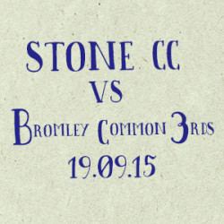 Stone Cricket Club v. Bromley Common 3rds | Match report