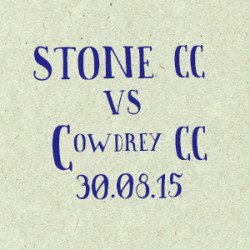 Stone Cricket Club vs. Cowdrey CC match report
