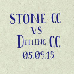 Stone Cricket Club vs. Detling CC match report